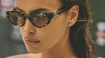Max Mara taps Irina Shayk for summer 2020 sunglasses campaign.