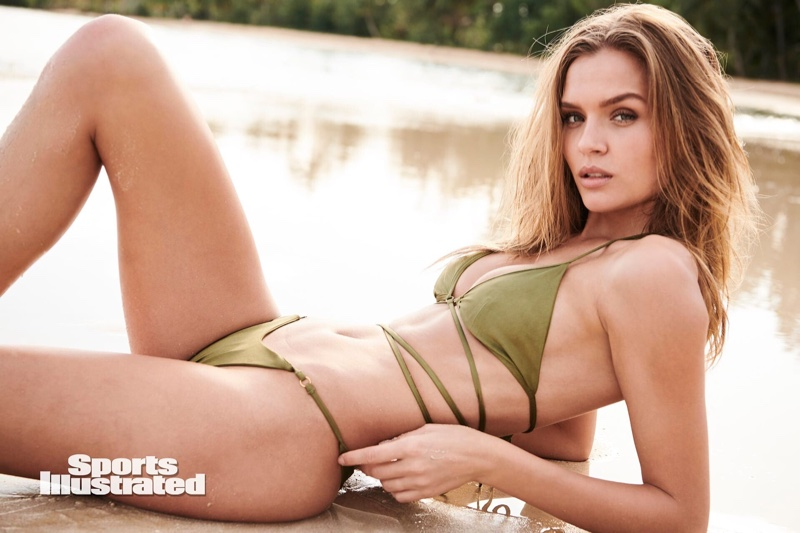 Josephine Skriver Looks Red Hot in Sports Illustrated: Swimsuit Issue 2020