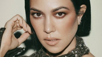 Kourtney Kardashian Is Ready for Her Closeup in Vogue Arabia