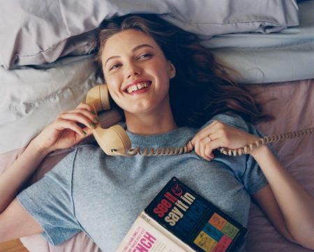 Lindsey Wixson Models Lounge-Worthy Styles for Vogue Ukraine