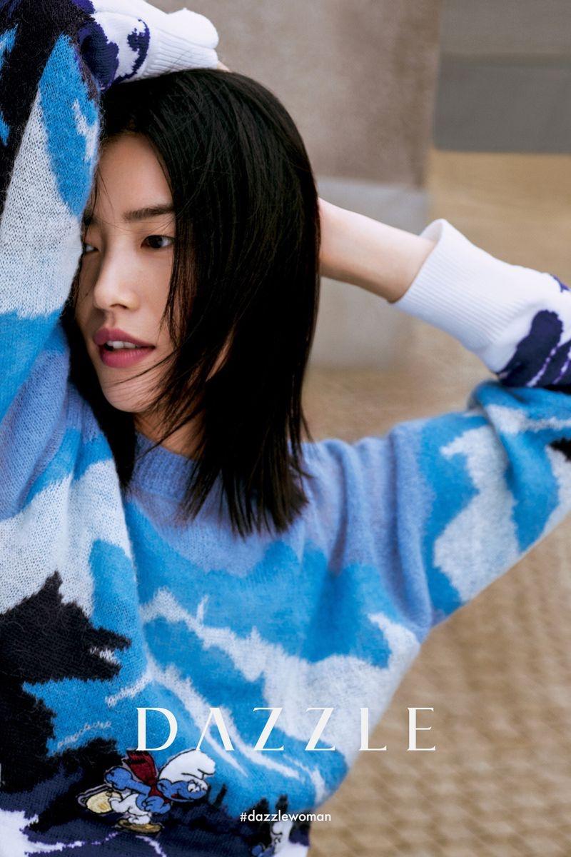 Dazzle taps Liu Wen for its fall-winter 2020 campaign.