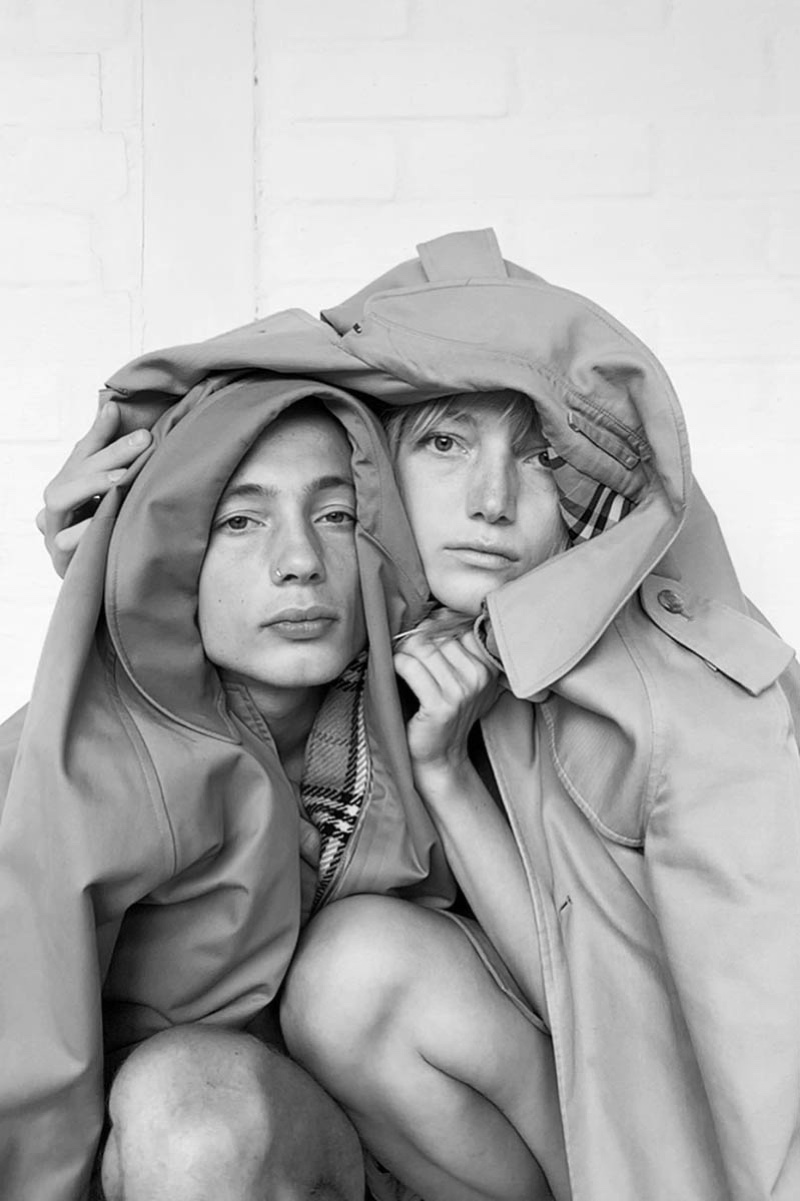 Lou Schoof Poses With Brother Nils for M Magazine Milenio
