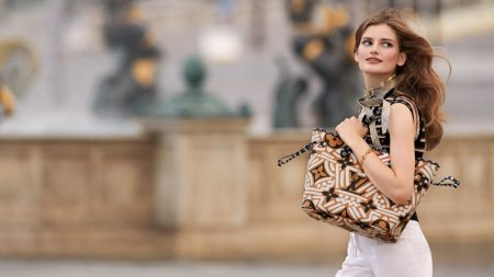 Signe Veiteberg stars in Louis Vuitton LV Crafty campaign.