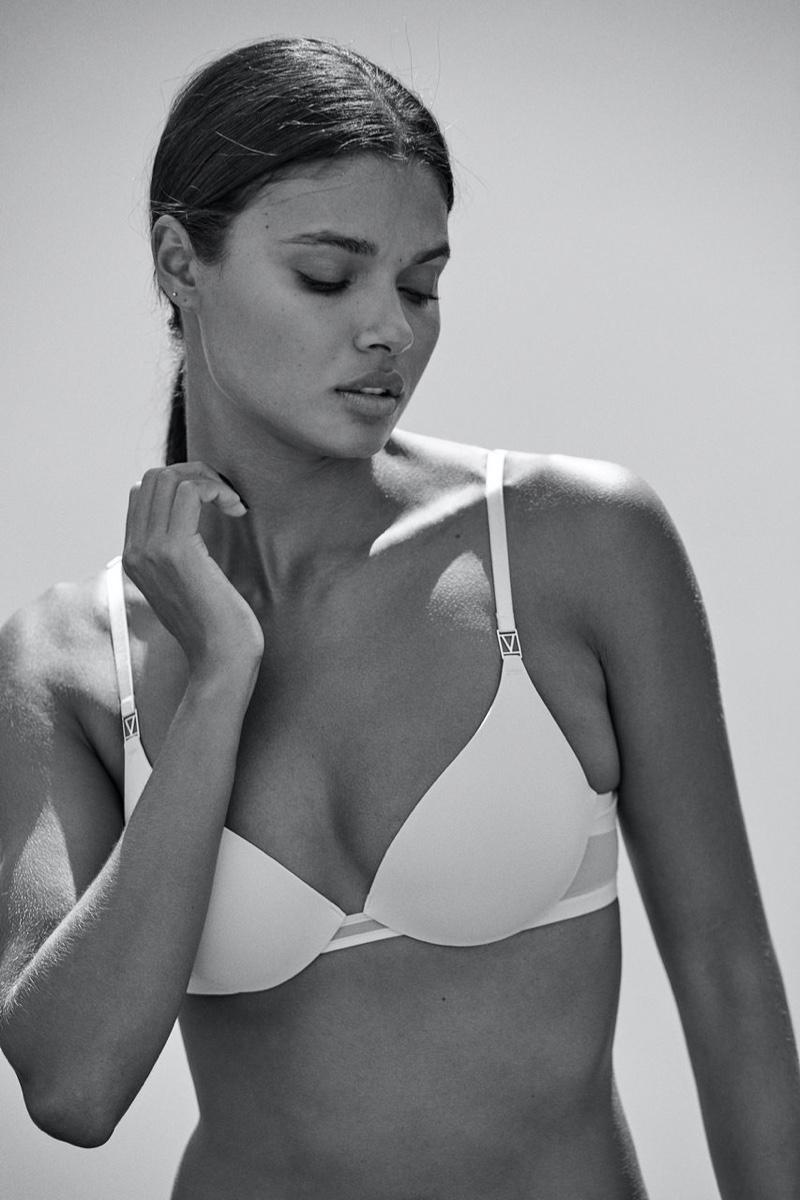 Daniela Braga stars in Love by Victoria Victoria's Secret 2020 campaign.