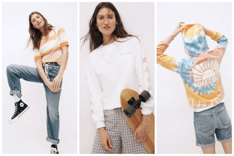 Madewell x Free & Easy clothing collaboration