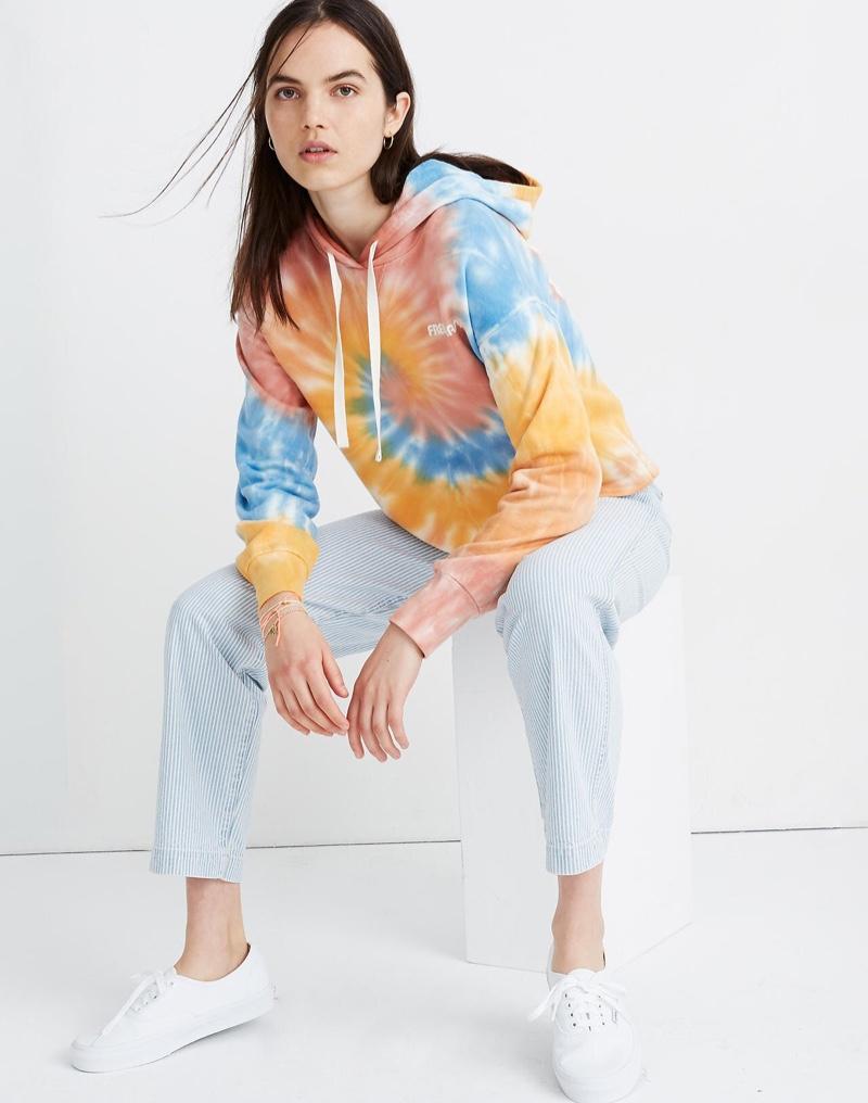 Madewell x Free & Easy Tie-Dye Hoodie Sweatshirt $88