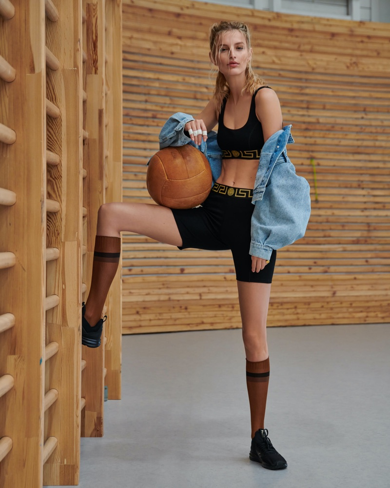 Michaela Kocianova Is Sporty Chic in ELLE Czech