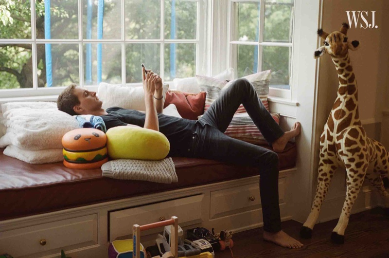 Miranda Kerr & Husband Evan Spiegel Pose for WSJ. Magazine