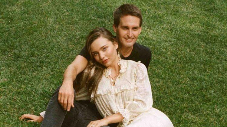 Miranda Kerr & Husband Evan Spiegel Pose for WSJ. Magazine