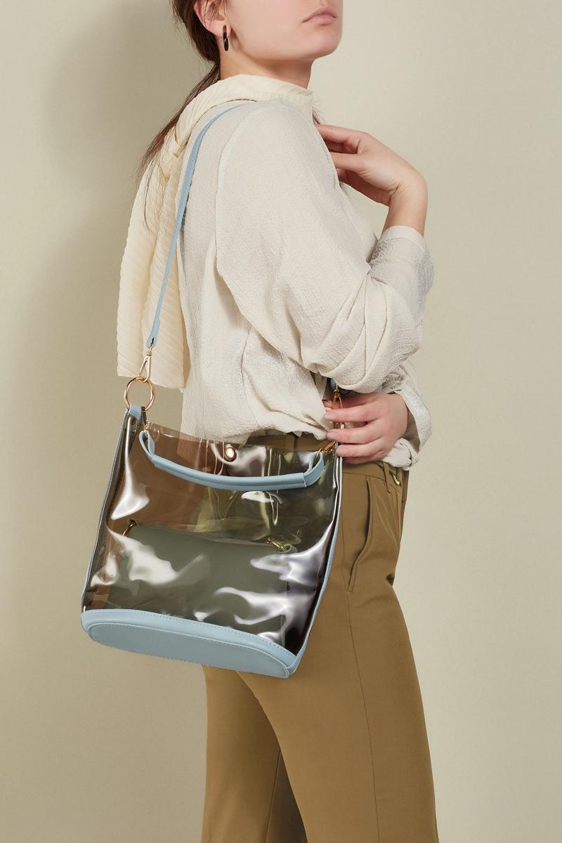 Model Clear Bag PVC