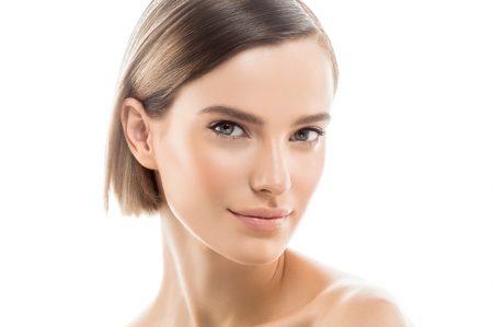 Model Clear Skin Beauty Face