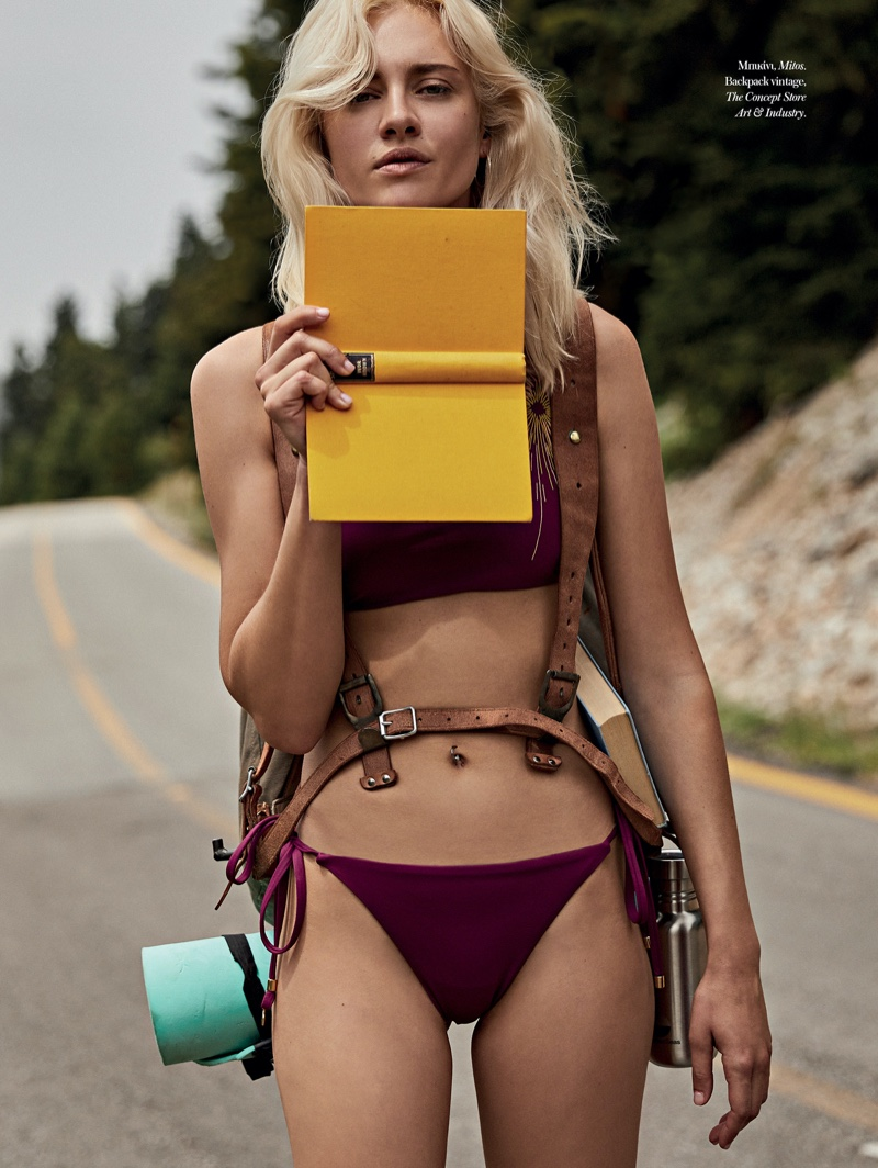 Nadia Serlidou Goes On a Stylish Road Trip for Vogue Greece