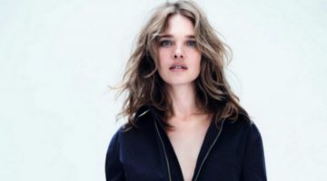 Natalia Vodianova Models Chic Dior Looks for Vogue Paris