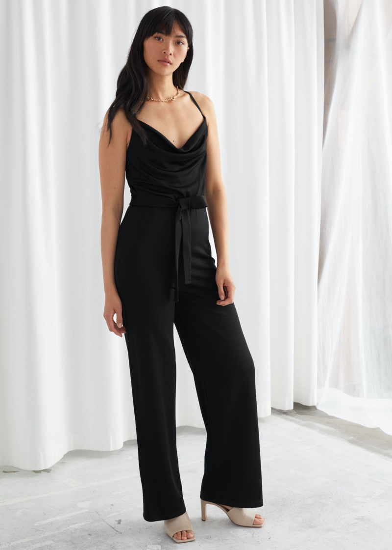 & Other Stories Open Back Jumpsuit $99