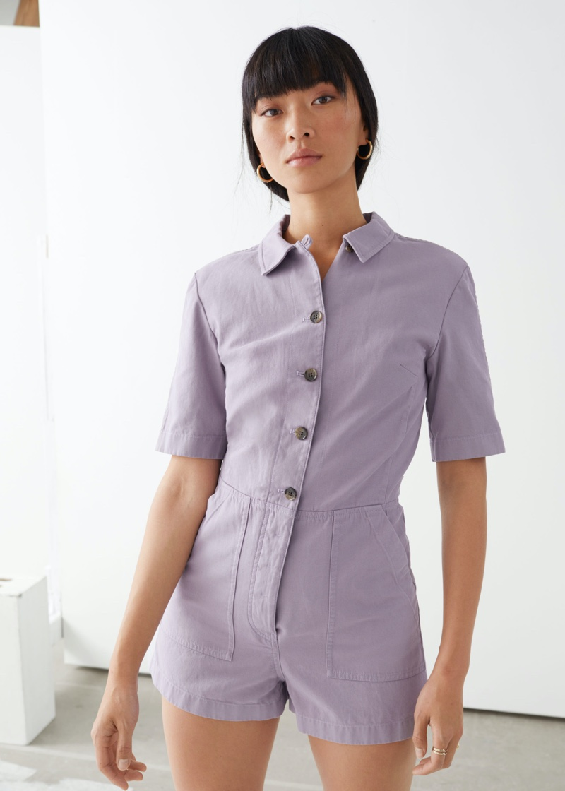 & Other Stories Short Workwear Boilersuit $99