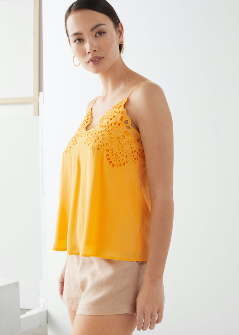 & Other Stories Spaghetti Strap Top $69