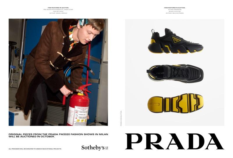 Prada launches fall-winter 2020 campaign.
