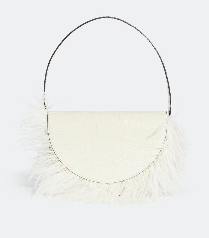 STAUD Amal Feathered Bag $127.50