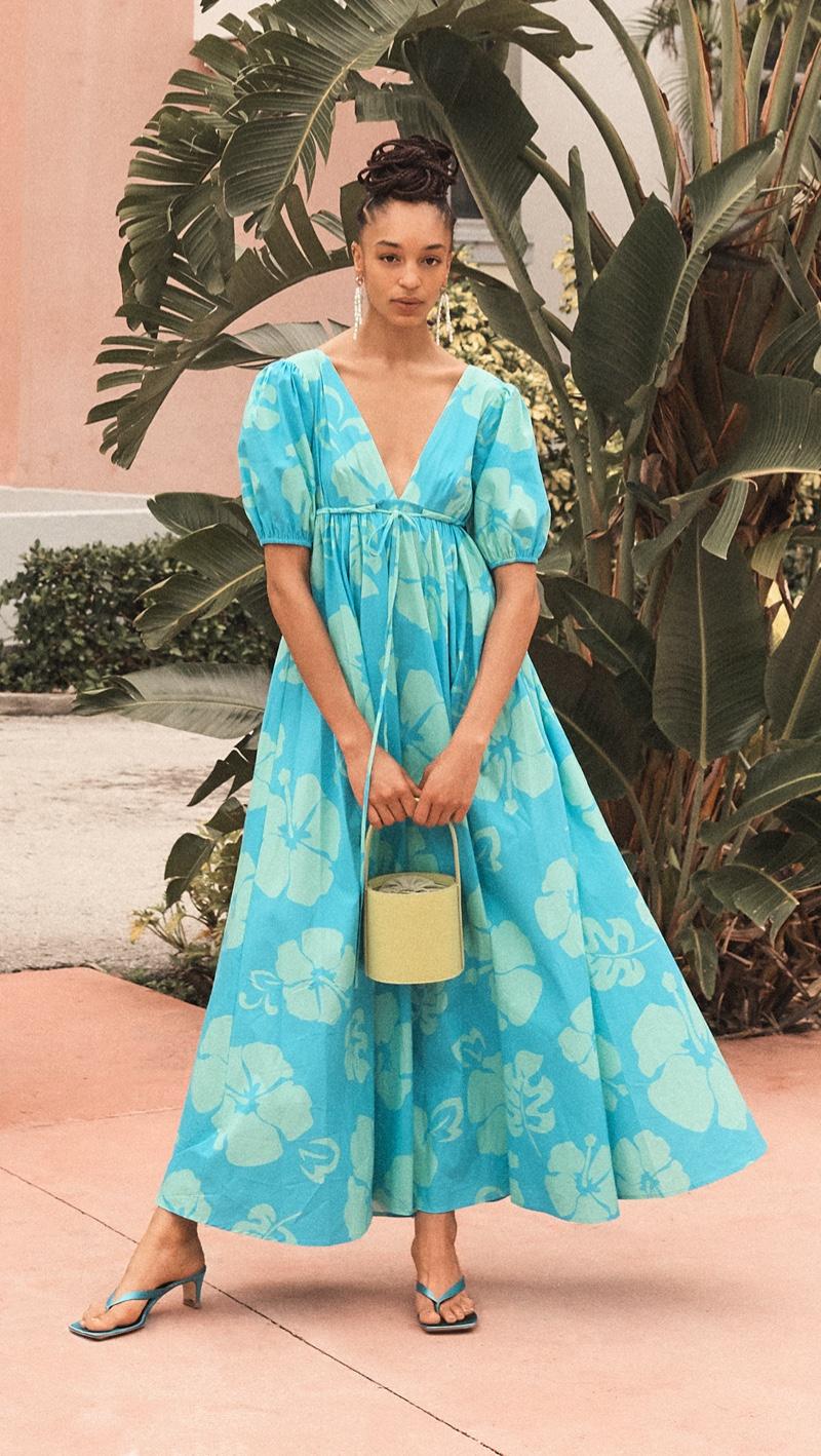 STAUD Amarettis Dress $345