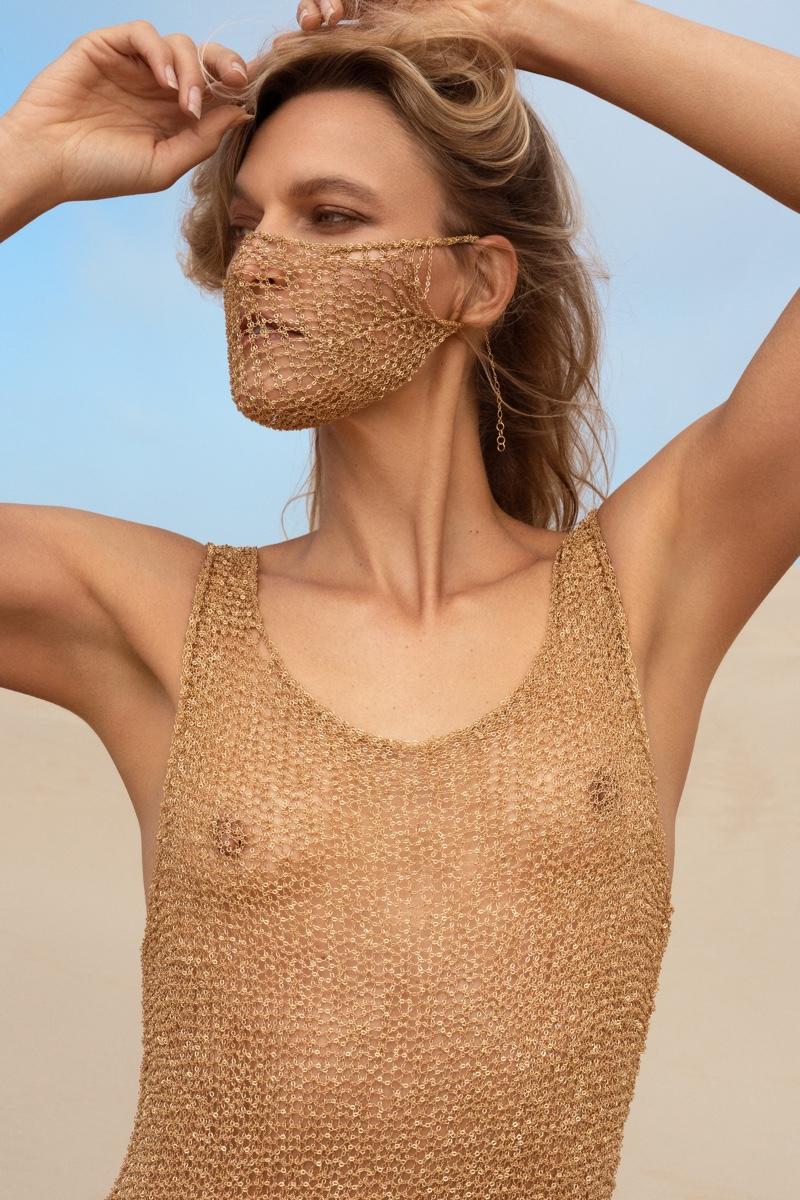 Dress and Mask Natalia Fedner. Photo: Jeff Tse