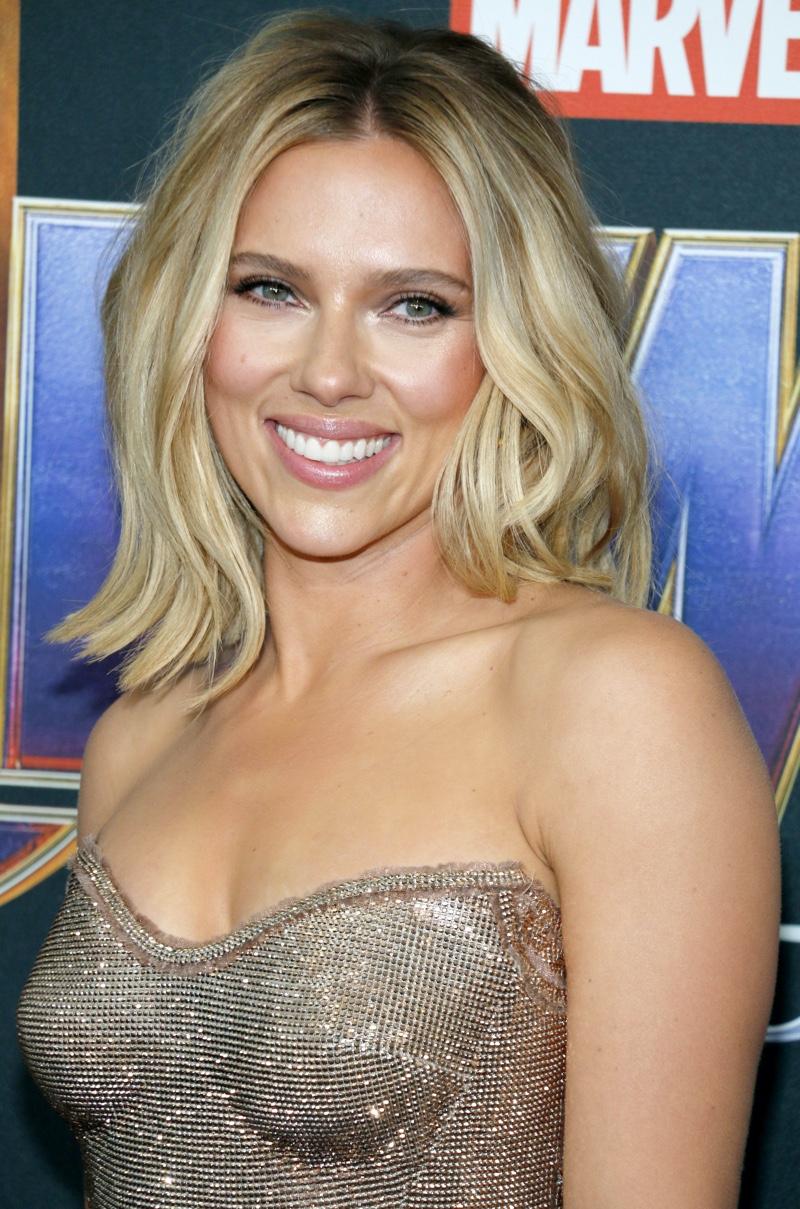 Scarlett Johansson at the World premiere of 'Avengers: Endgame'.