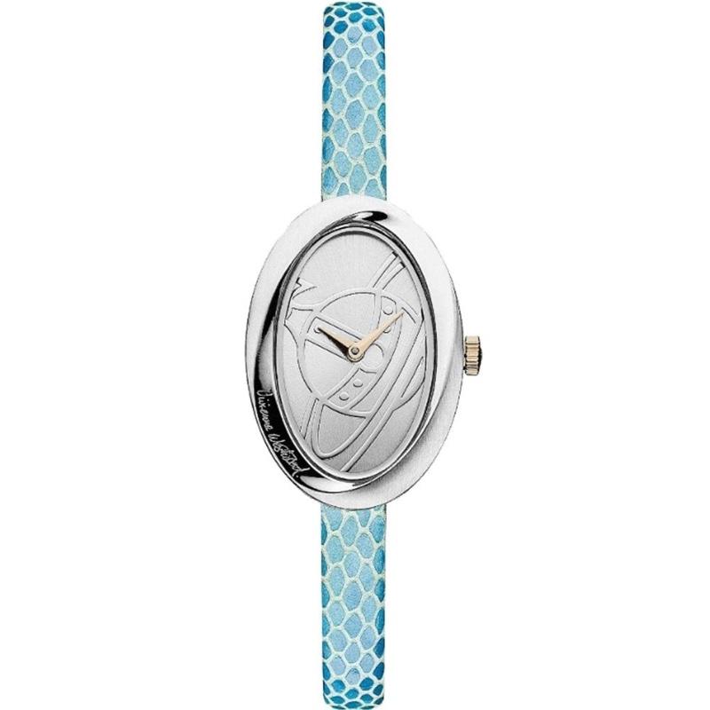 Vivienne Westwood Silver Blue Watch