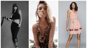 Week in Review | Anja Rubik in Saint Laurent, Bella Hadid for Helmut Lang, July Style Guide + More