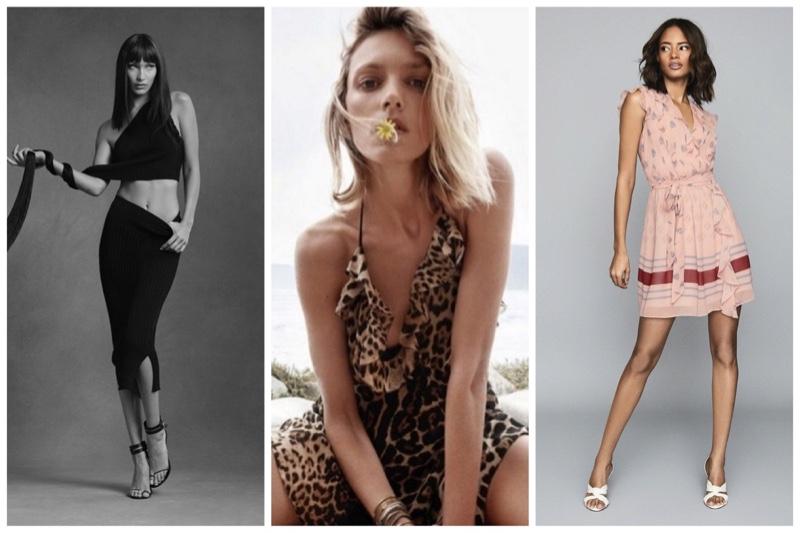 Week in Review   Anja Rubik in Saint Laurent, Bella Hadid for Helmut Lang, July Style Guide + More