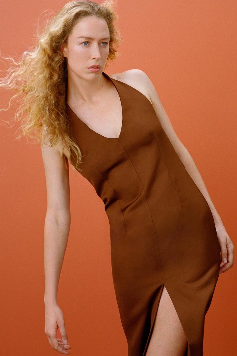 Zara Join Life Slit Halter Dress.