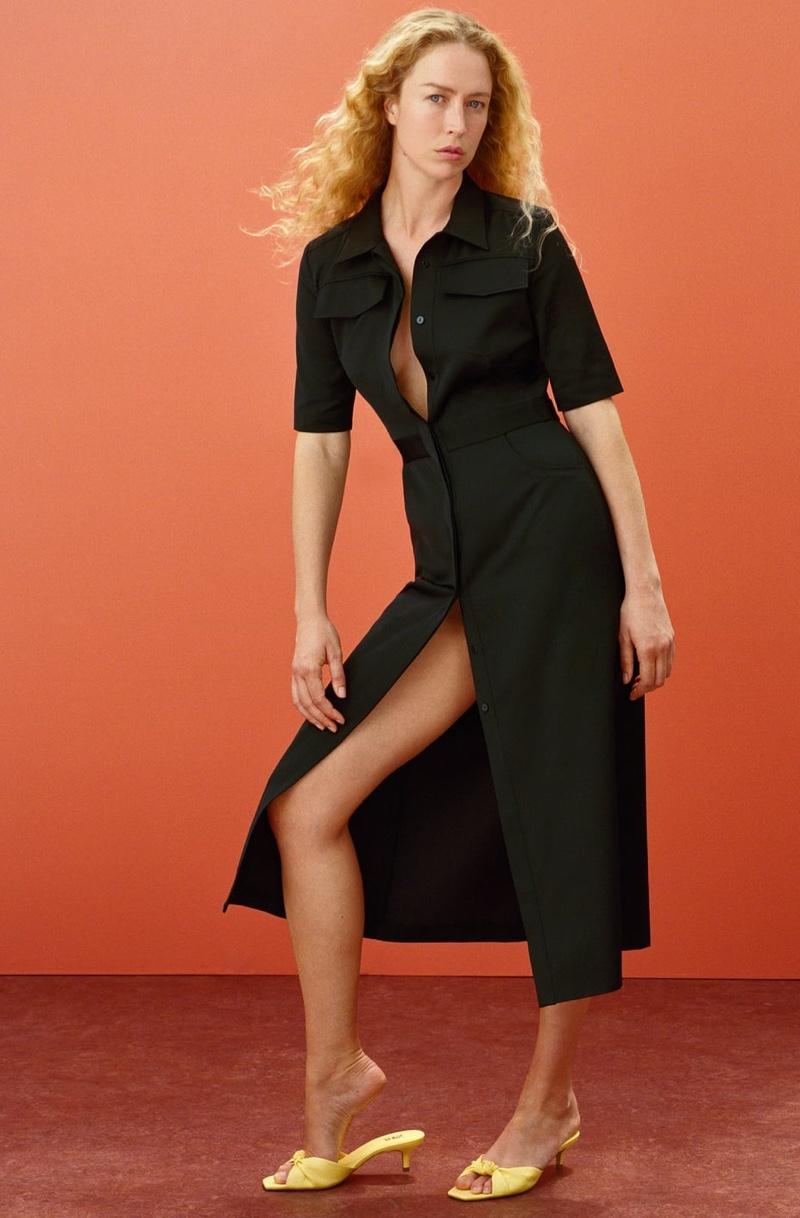 Zara Join Life Flap Pocket Dress.