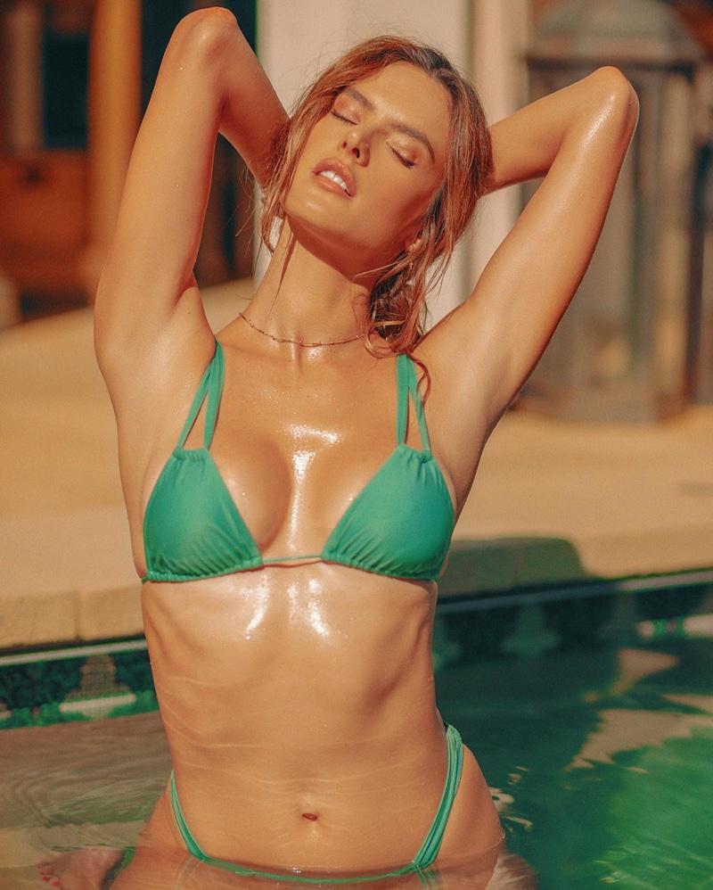 Alessandra Ambrosio is Smokin' Hot in Gal Floripa Summer Swimwear