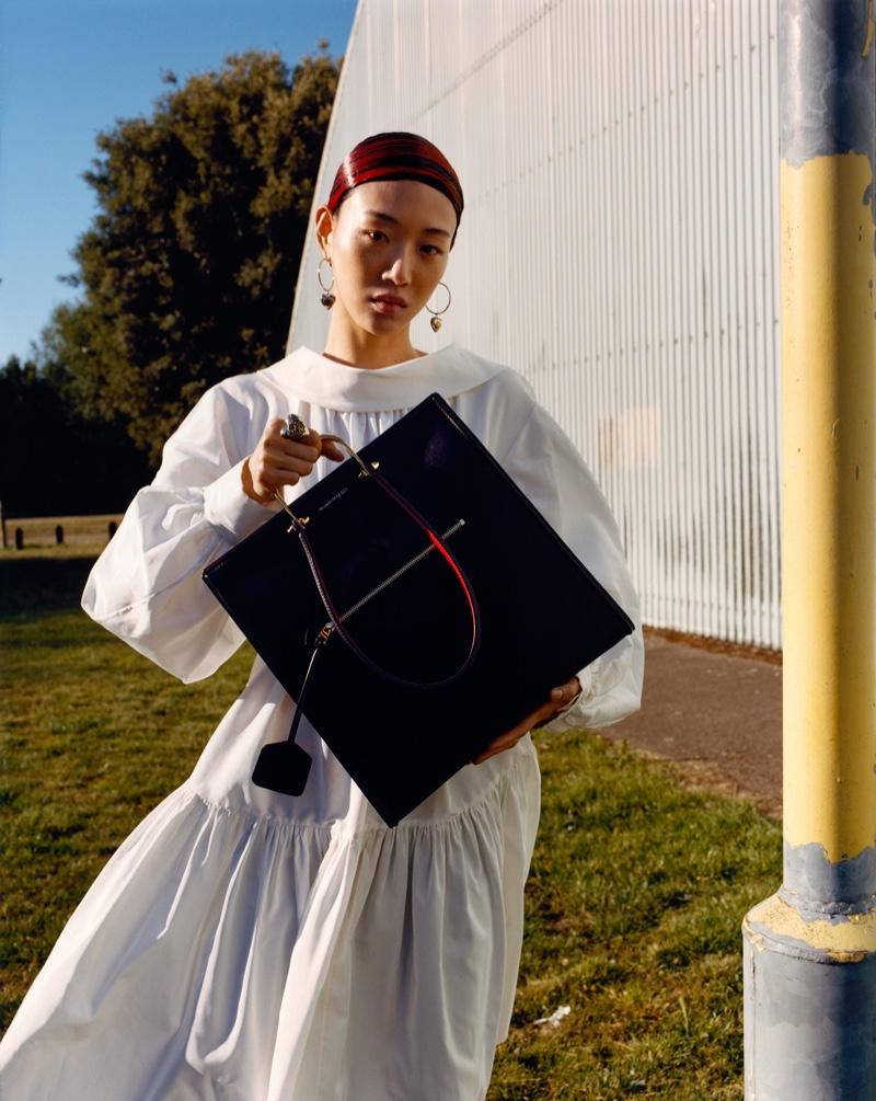 Jamie Hawkesworth captures Alexander McQueen fall-winter 2020 campaign.
