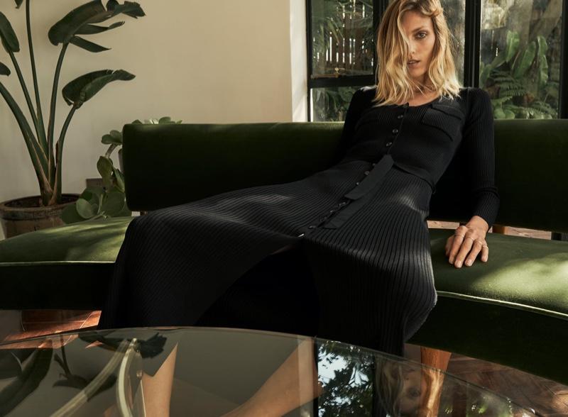 Zara Knit Pocket Dress.