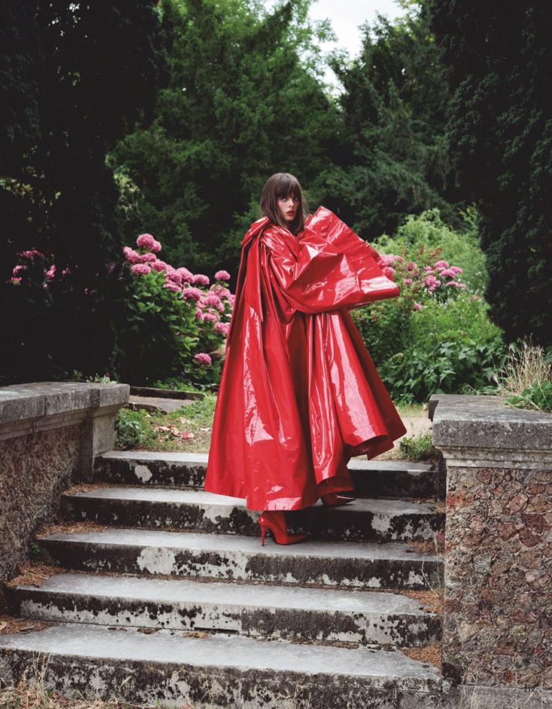 Aylah Peterson Poses in Elegant Looks for Vogue Japan