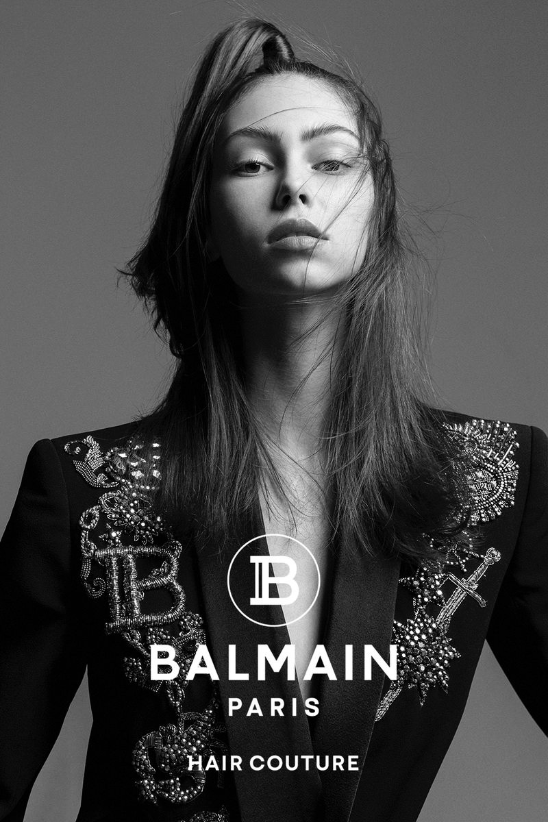 Balmain Hair Couture unveils fall-winter 2020 campaign.