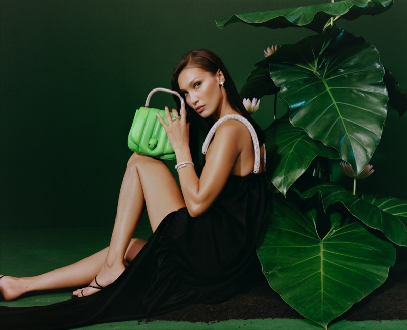 Bulgari x Ambush taps Bella Hadid for new campaign.