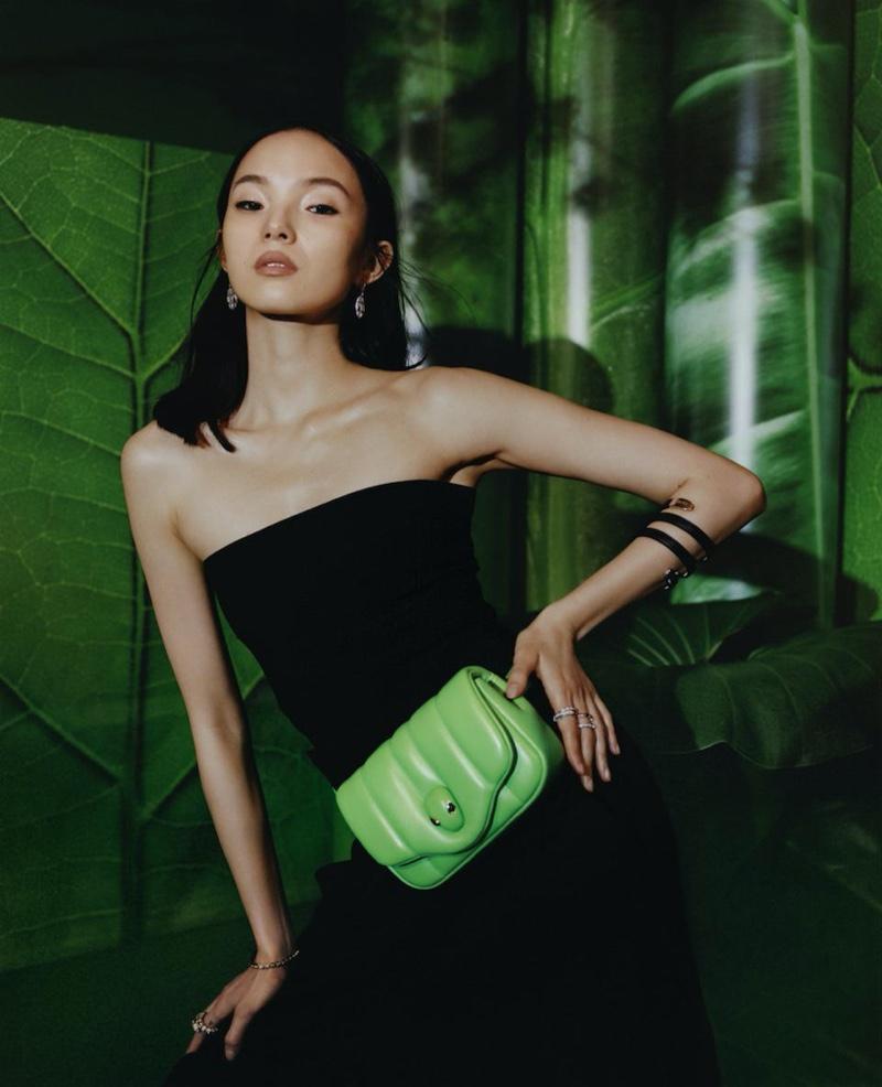 Xiao Wen Ju appears in Bulgari x Ambush accessories campaign.