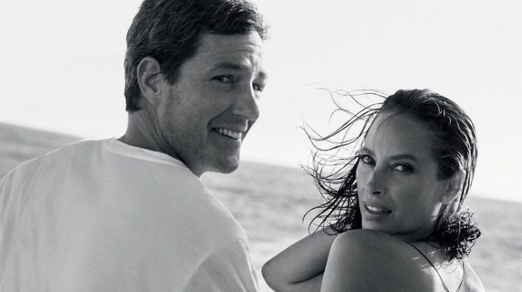 Christy Turlington returns in 2020 after appearing in Calvin Klein Eternity's 1988 advertisements originally.