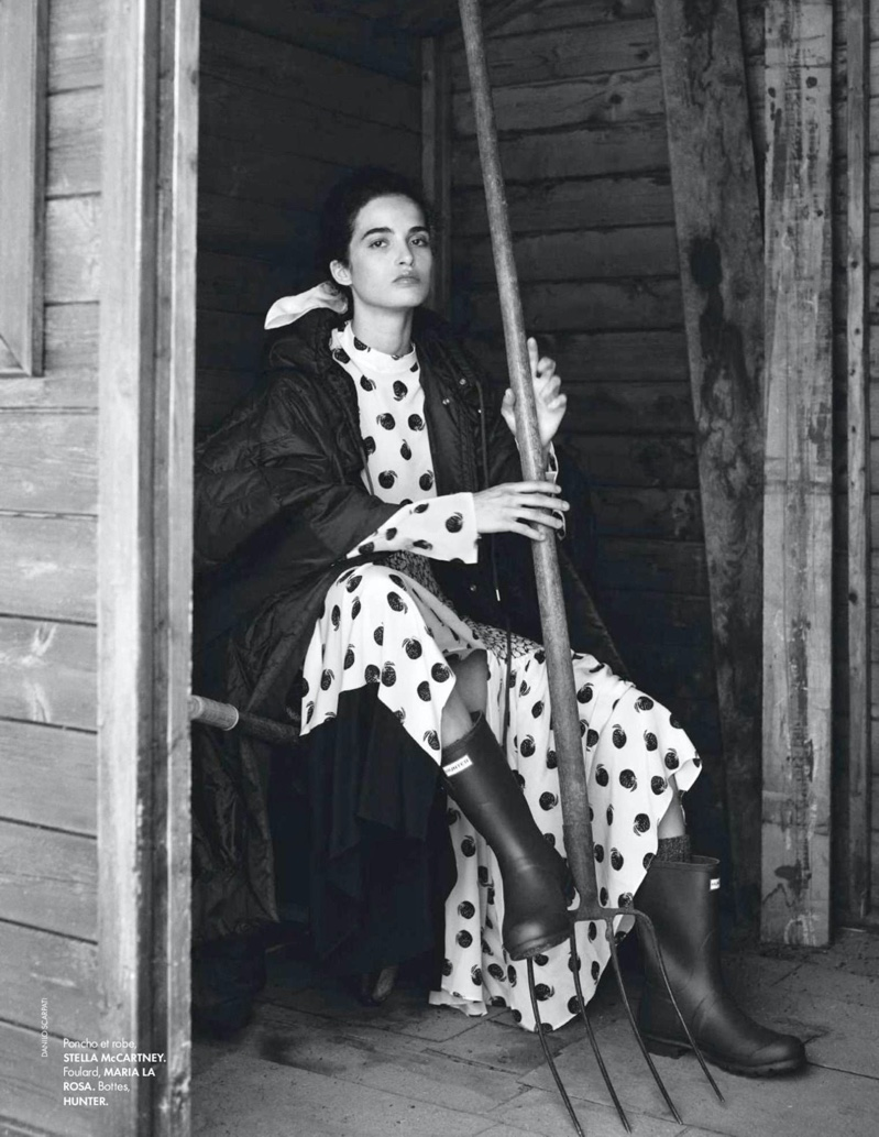 Chiara Scelsi Embraces Outdoor Style for ELLE France