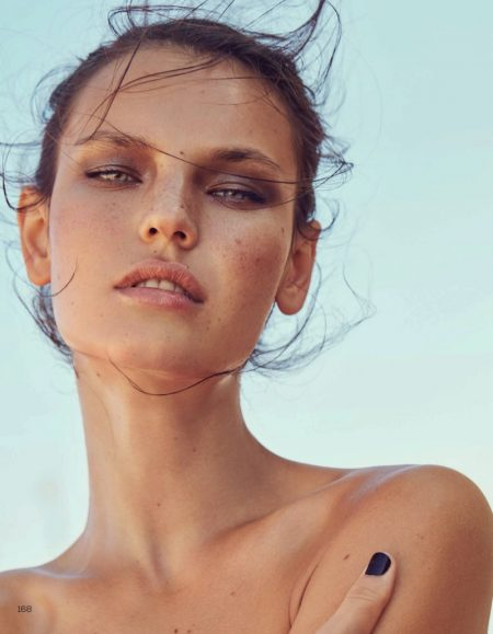 Darya Jemel Tries On Summer Beauty Looks for Vogue China