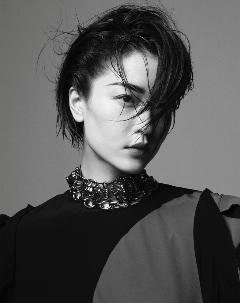 Du Juan Takes Center Stage for Marie Claire China