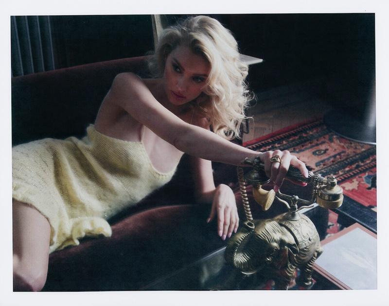 Elsa Hosk Channels Retro Fashion for V Magazine