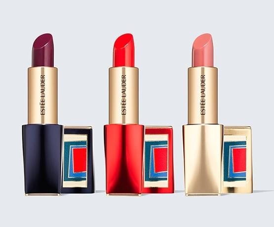 Estee Lauder The MET 150 Collection Pure Color Envy Full-Size Lipstick Trio $90