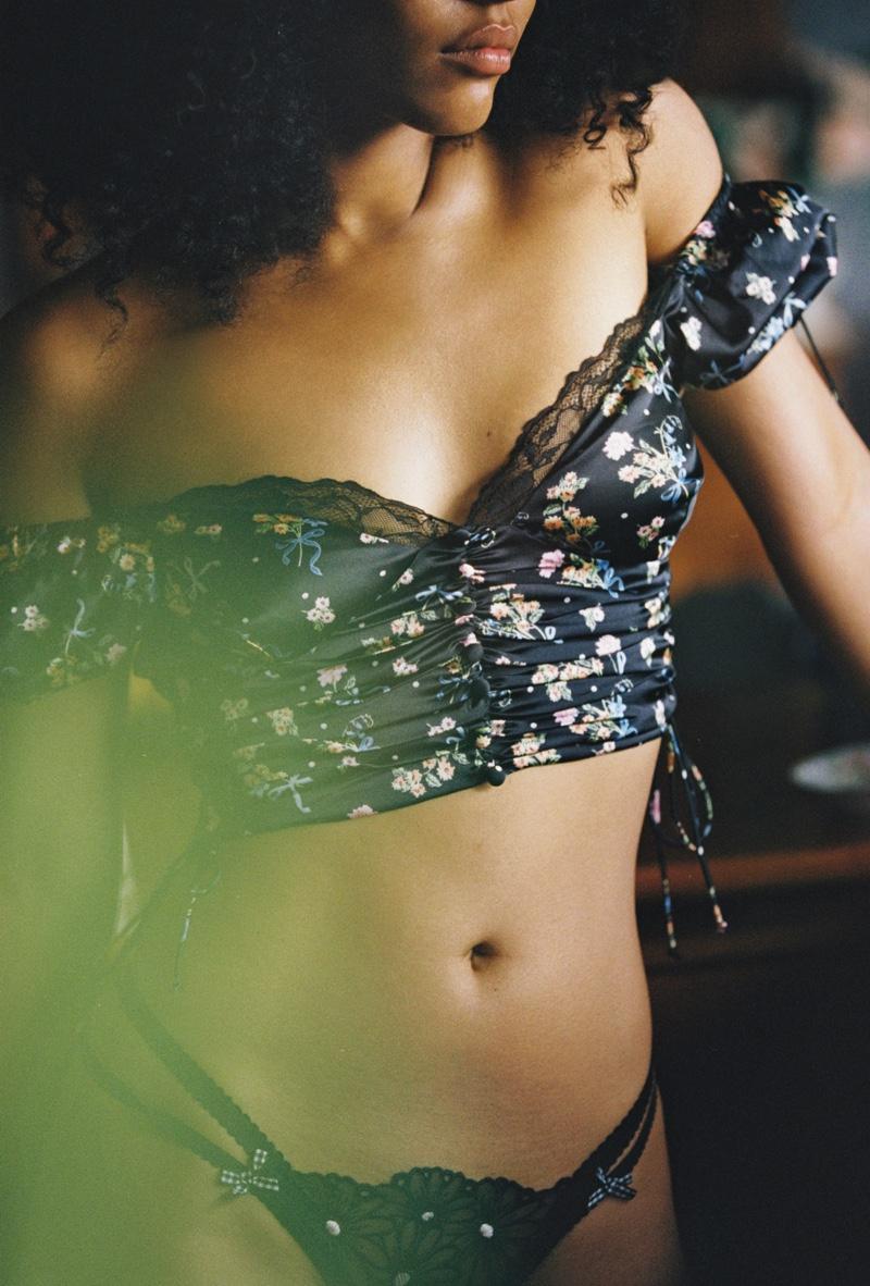 Ruby Campbell Smolders in FL&L x Victoria's Secret Fall 2020 Campaign