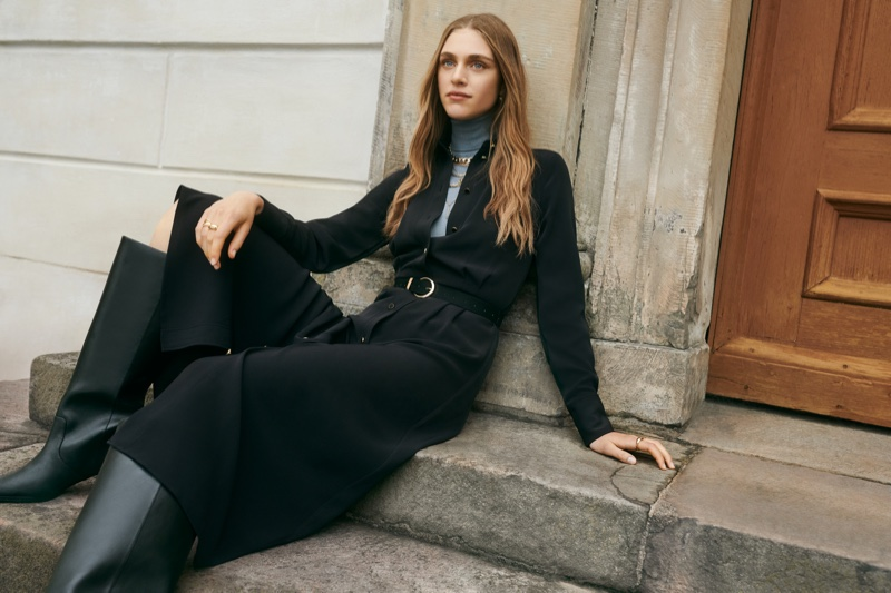 Tailoring takes the spotlight in Giuliva Heritage x H&M campaign.