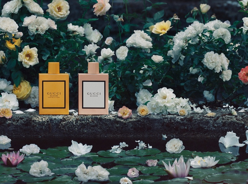 Image from Gucci Bloom fragrance campaign.