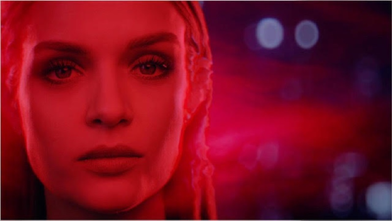 Model Josephine Skriver appears in Marvel x Maybelline film.