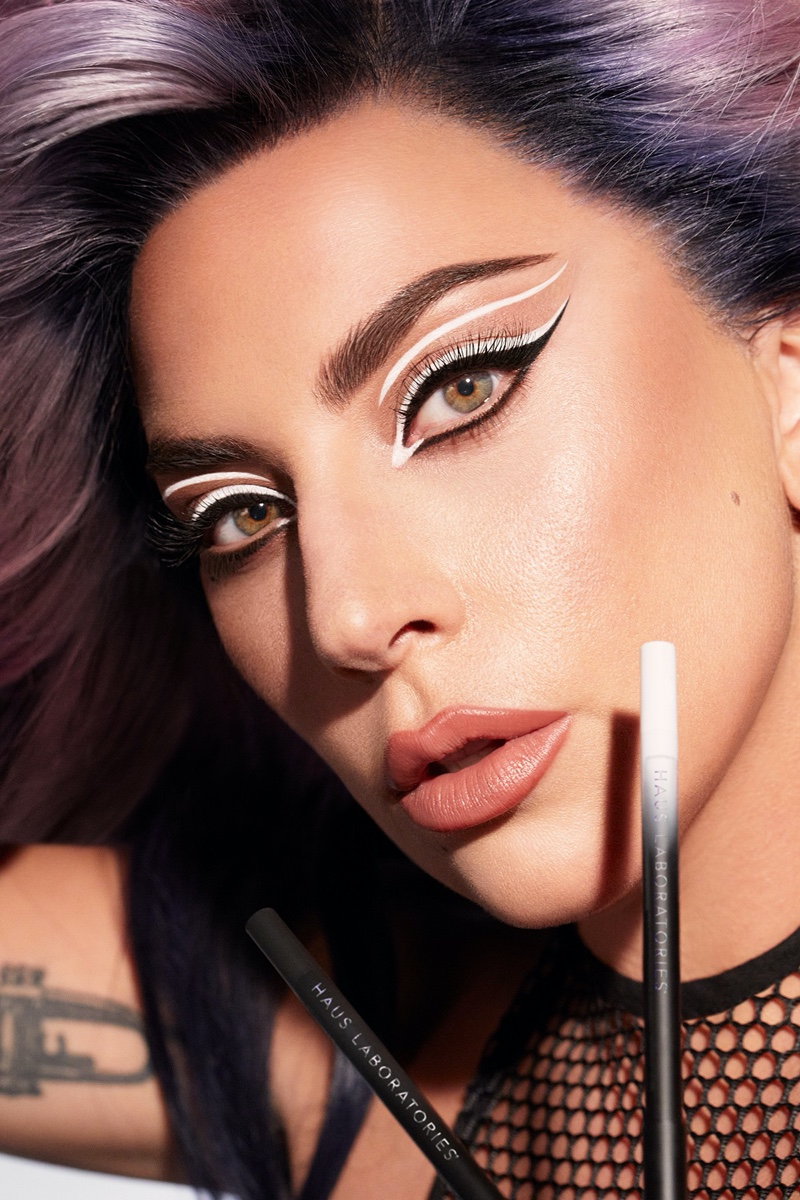 Haus Laboratories unveils Eye-Dentify Gel Pencil Eyeliner campaign with Lady Gaga.