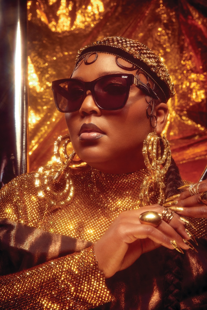 Quay Australia teams up with Lizzo on second eyewear collaboration.