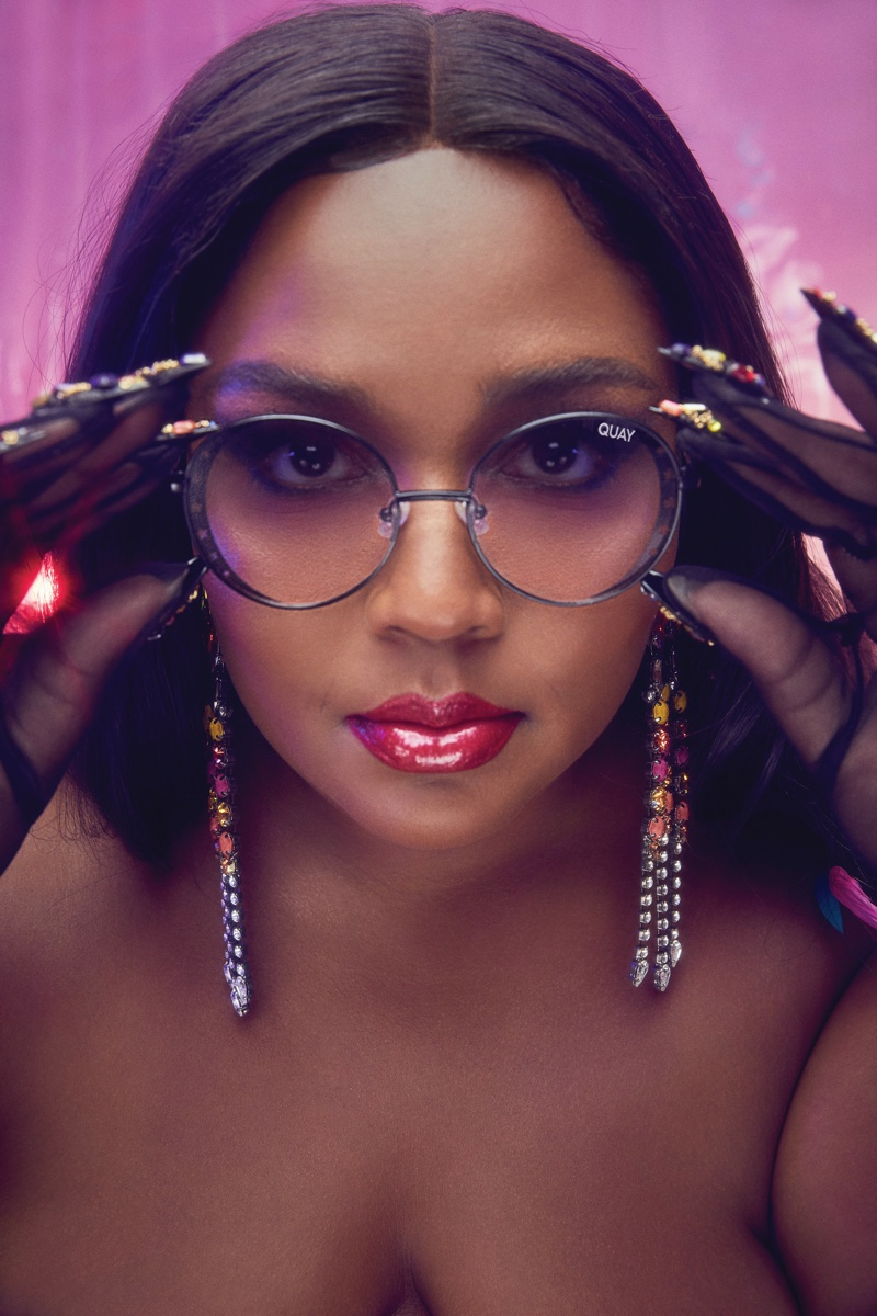 Seeing Stars sunglasses from Lizzo x Quay collaboration.